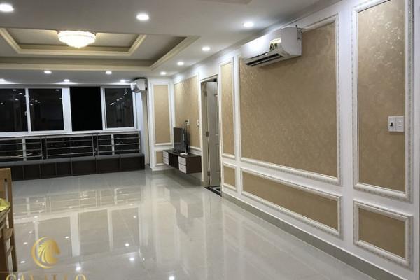 Phào chỉ nhựa Hàn Quốc trang trí căn hộ tại Vũng Tàu.