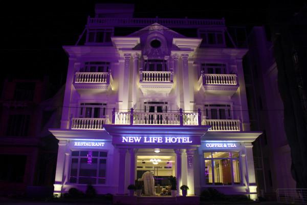 Phào chỉ nhựa Hàn Quốc Đà Lạt - New Life Hotel