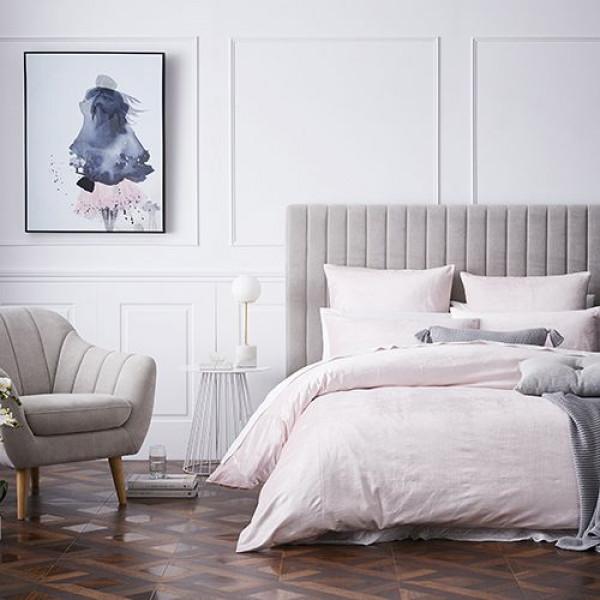 Gợi ý thiết kế phòng ngủ tiêu chuẩn kết hợp phào chỉ Hàn Quốc