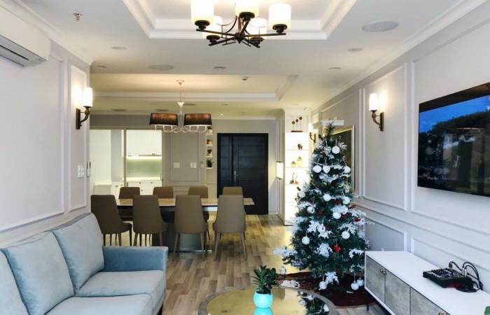 Phào chỉ nhựa Hàn Quốc trang trí căn hộ Scenic Valley Phú Mỹ Hưng