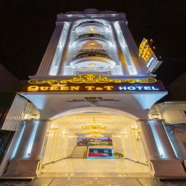 Phào chỉ nhựa Hàn Quốc trang trí Queen T&T hotel Đà Lạt